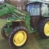 John Deere 2850 4WD Tractor with 245M Power Loader