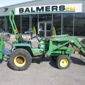 Second Hand John Deere 855 c/w Lewis 70a Loader ref: 3403 Tractor...