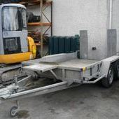 Ifor Williams 10 x 6 Hd Plant trailer... Newtownards