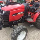 Shibaura St333 Hst Compact Tractor... Tewkesbury