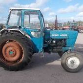 Farm Tractors: Ford 4000... Omagh
