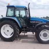 Farm Tractors: New Holland Tm125 Classic... Omagh