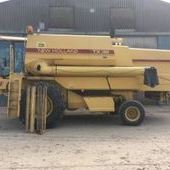 1989 New Holland Tx36 Combine Harvester... Boston