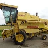 Used New Holland 8040 Combine... York
