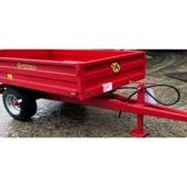Marshall S/1 1. 25t Drop-side Agricultural Trailer... Sutton Cold...