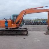 Track excavators: Hitachi 120-3... Omagh