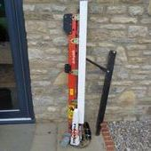 Used Matrot Electric Sideknife C/w Brackets... York