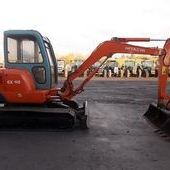 Mini digger: Hitachi Ex40... Omagh
