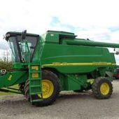 Used John Deere 9780i Cts Hillmaster Combine... York