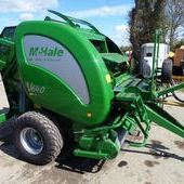 Mchale V640 Variable Chamber Round Baler... Maidstone