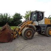 Used Liebherr L538 Loading Shovel C/w Toe Tip Grab... York