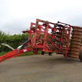 Used Sumo 4. 5 Meter Trio Folding Cultivator... York