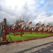 Used Kvernland Rb100 8f Semi-mounted Plough... York