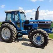 Used Ford 8730 Powershift Tractor ... York