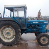 Farm Tractors: Ford 7610... Omagh