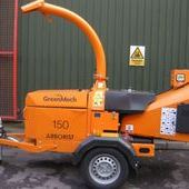 "Secondhand Greenmech Arborist 150 6"" chipper ref: 2847... Burnley"