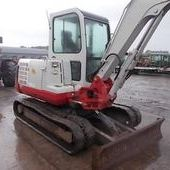 Mini digger: Takeuchi Tb145... Omagh