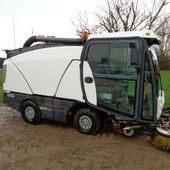 Used Johnston Suction Sweeper... York