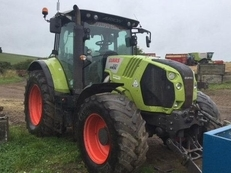Used tractor:  CLAAS Arion 630