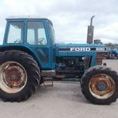 Farm Tractors: Ford 8210... Omagh