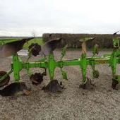 Used Dowdeswell Dp8b 4 Furrow Reversible Plough... York