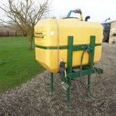Used Cleanacres Front 830l Spray Tank... York