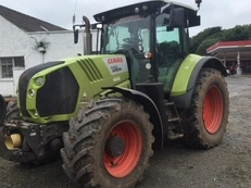 Used tractor:  CLAAS Arion 640