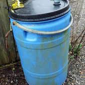Rat proof drum. Large