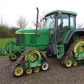 Used John Deere 6510se C/w West Tracks Tractor... York