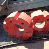 Used Fendt 1 Tonne Wheel Weights X2... York