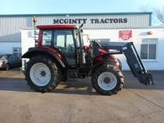 Valtra N 103 Hi Tech 3 With Quickie Loader
