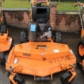 "Second Hand Scag Swz48v-17kai 48"" Mower ref: 3238... Burnley"