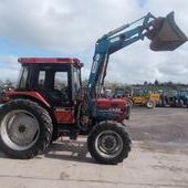 Farm Tractors: Case Ih 885xl... Omagh