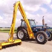 Used Ford 8210 C/w Herder Bk135s Hedgecutter... York