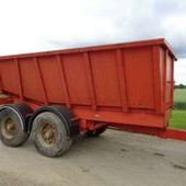 Used Dump Trailer... York