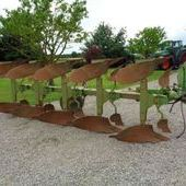 Used Dowdeswell Dp100s 5f Plough... York