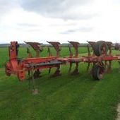 Used Gregoire Besson 6f Auto-reset Plough... York