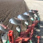 New Kverneland Ld 85/200 4+1 Furrow Plough ... Boston