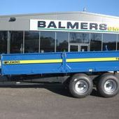 Second Hand Fleming Tr8d 8 Ton Road Tow Tipping Trailer ref: 3415...