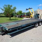 Used Chieftain Low Loader Trailer... York