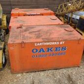 Used Bunded Fuel Tank C/w Honda Petrol Engine... York