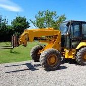 Used Jcb Tm200 Articulated Telehandler... York