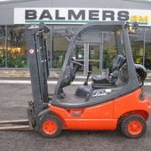 Second Hand Linde H18t-03 Gas Fork Lift Truck ref: 2986... Burnley