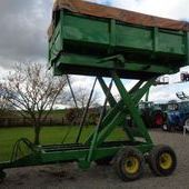Used Marston 8 Tonne Hi-lift Trailer... York