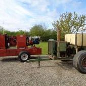 Used Water Pumps C/w Perkins Engine`s... York