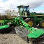 Used John Deere 6750 C/w Triple Mowers... York