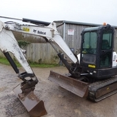 Bobcat E45 Tracked Digger... Swindon