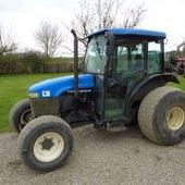 Used New Holland Tn55s Supersteer Tractor... York