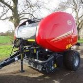 New Vicon 5216 Super Cut Round Baler... Boston