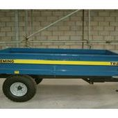 Fleming Tr2 2 Tonne Hydaulic Tipping, Trailer, fleming 2 tonne Hy...